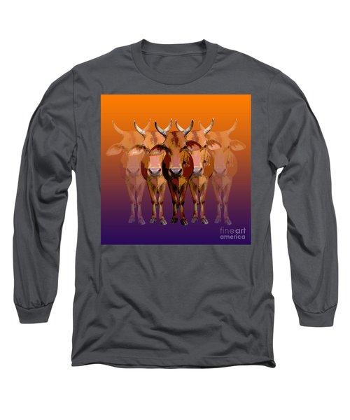 Brahman Cow Long Sleeve T-Shirt
