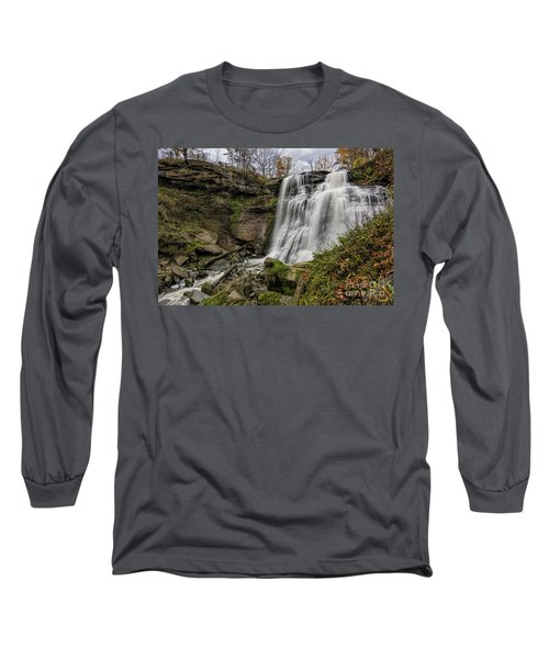 Brandywine Falls Long Sleeve T-Shirt by James Dean