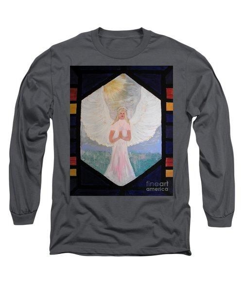 Angel In Prayer  Long Sleeve T-Shirt