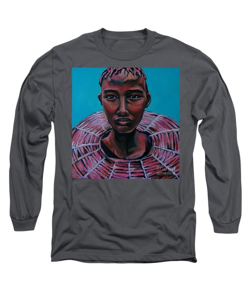 Bride - Portrait African Long Sleeve T-Shirt