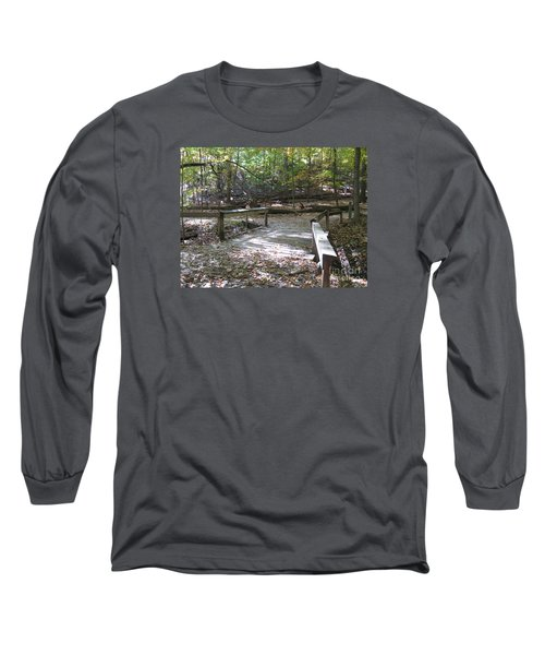Bridge To The Forest Deep Long Sleeve T-Shirt