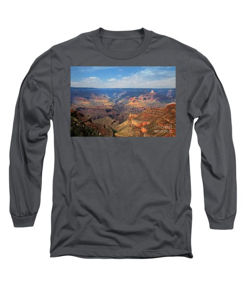 Bright Angel Trail Grand Canyon National Park Long Sleeve T-Shirt
