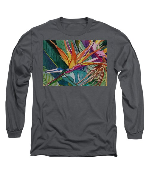 Brillant Bird Of Paradise Long Sleeve T-Shirt