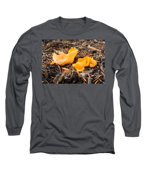 Brilliance In Orange Long Sleeve T-Shirt