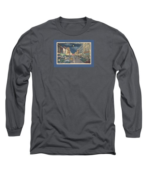 Bristol At Night In The 1940's Long Sleeve T-Shirt