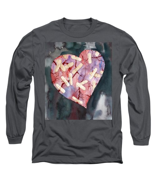 Broken Heart Long Sleeve T-Shirt