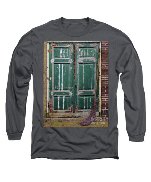 Broom Door Long Sleeve T-Shirt