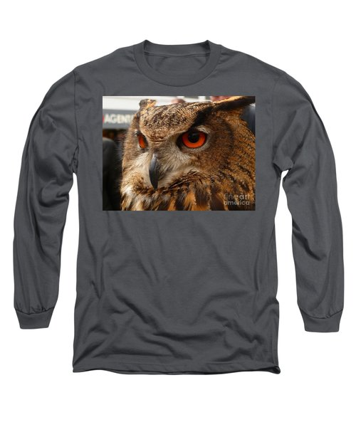 Brown Owl Long Sleeve T-Shirt by Vicki Spindler