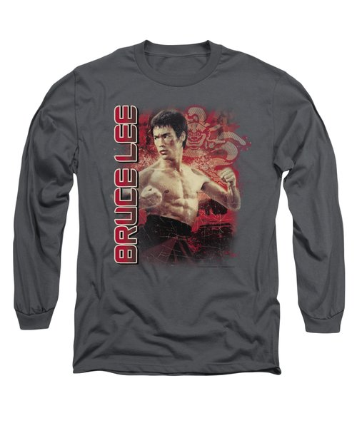Bruce Lee - Fury Long Sleeve T-Shirt by Brand A