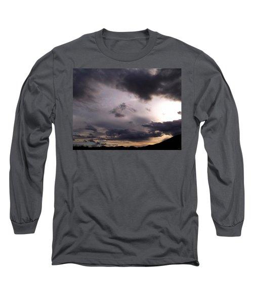 Brushing A Sunset Long Sleeve T-Shirt