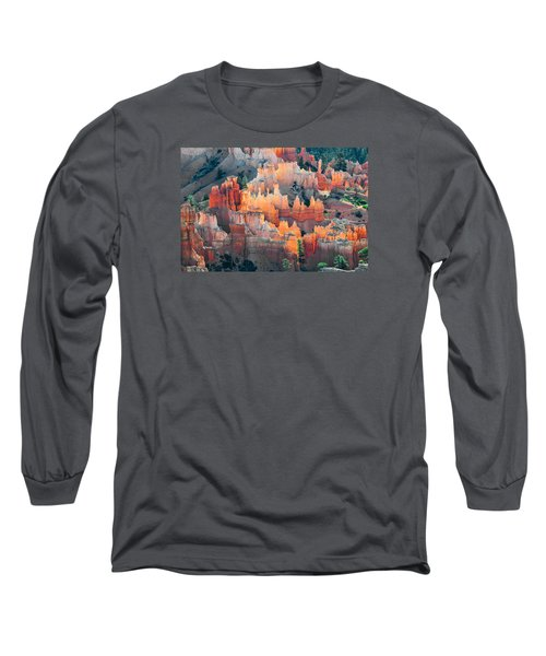 Bryce Canyon At Sunrise Long Sleeve T-Shirt
