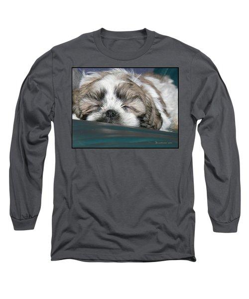 Bubba Long Sleeve T-Shirt by EricaMaxine  Price