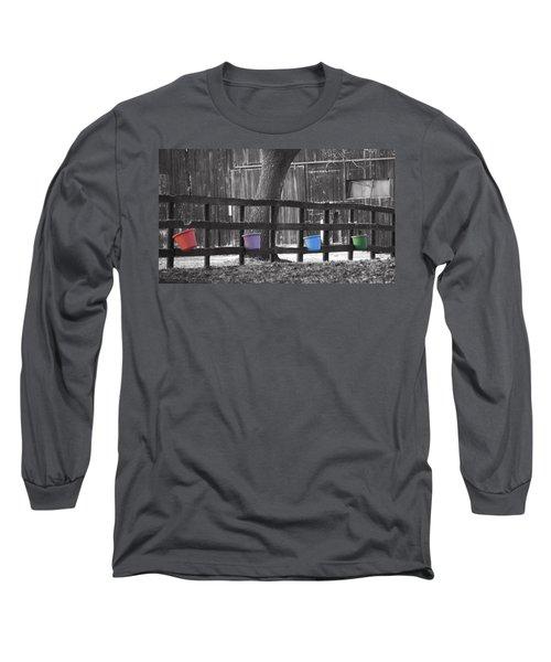 Buckets Long Sleeve T-Shirt