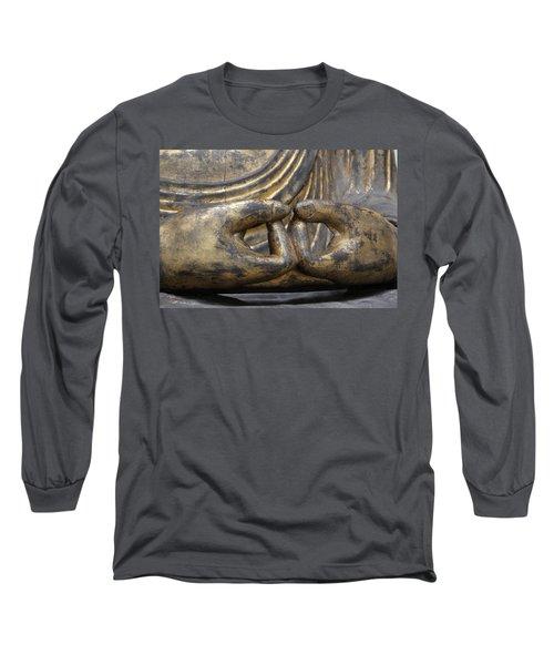 Long Sleeve T-Shirt featuring the photograph Buddha 3 by Lynn Sprowl