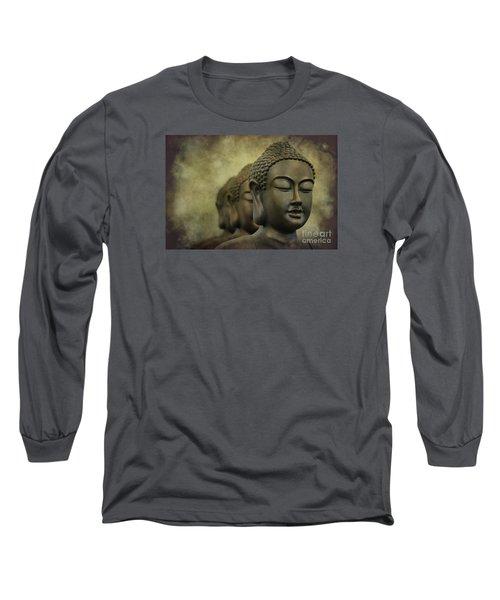 Buddha Bronze Long Sleeve T-Shirt