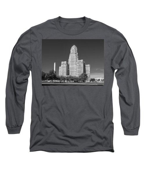 Buffalo City Hall 0519b Long Sleeve T-Shirt