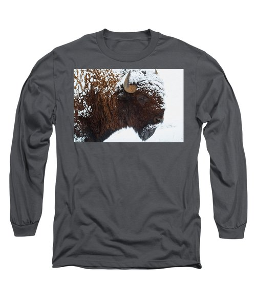 Buffalo Nickel Long Sleeve T-Shirt