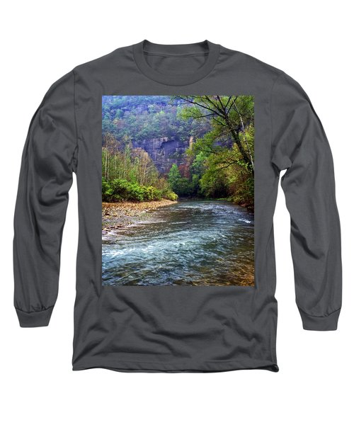 Buffalo River Downstream Long Sleeve T-Shirt