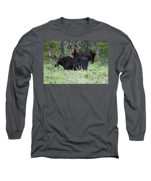 Bull Moose Long Sleeve T-Shirt
