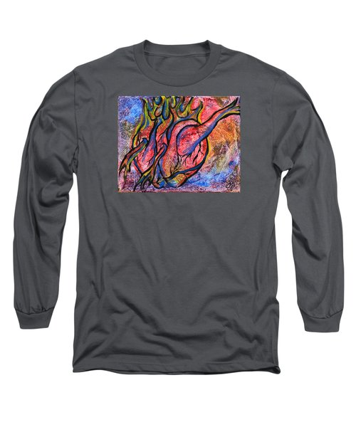 Burning Hearts Long Sleeve T-Shirt