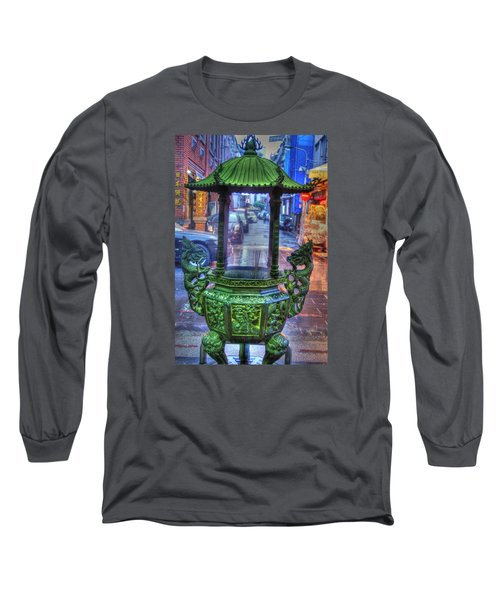Burning Incense Long Sleeve T-Shirt