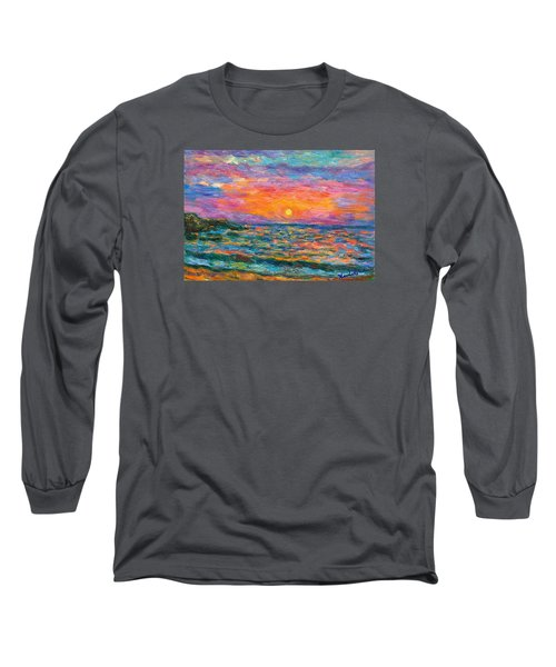 Burning Shore Long Sleeve T-Shirt