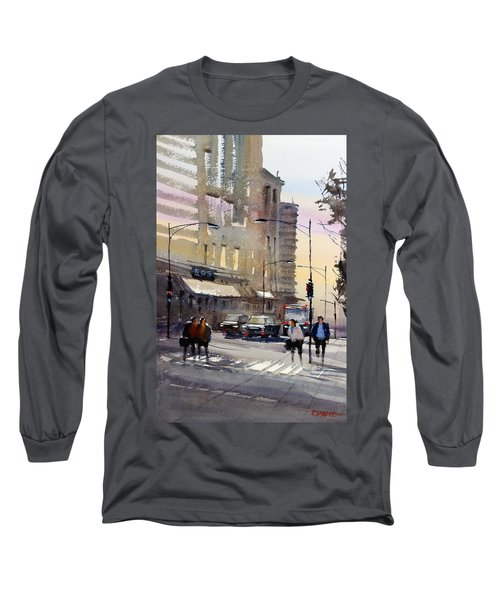 Bus Stop - Chicago Long Sleeve T-Shirt