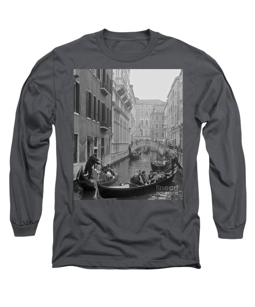 Busy Day In Venice Long Sleeve T-Shirt