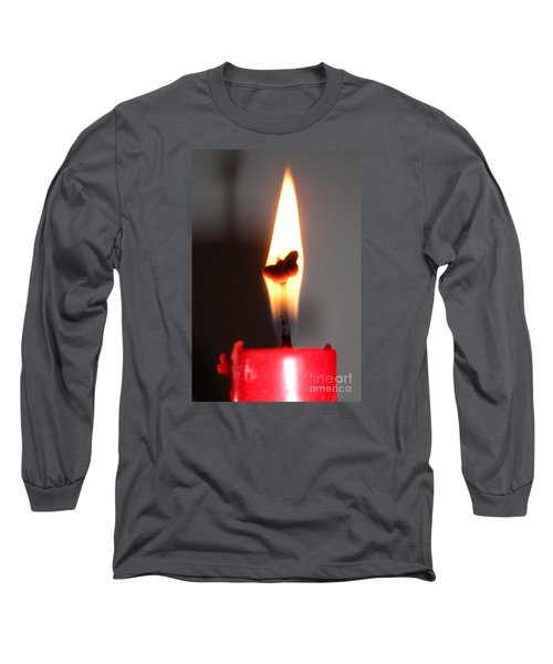 Butterfly Flame Long Sleeve T-Shirt