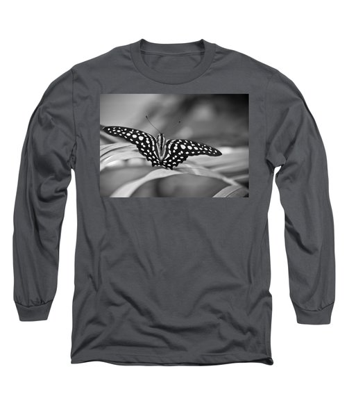 Butterfly Resting Long Sleeve T-Shirt