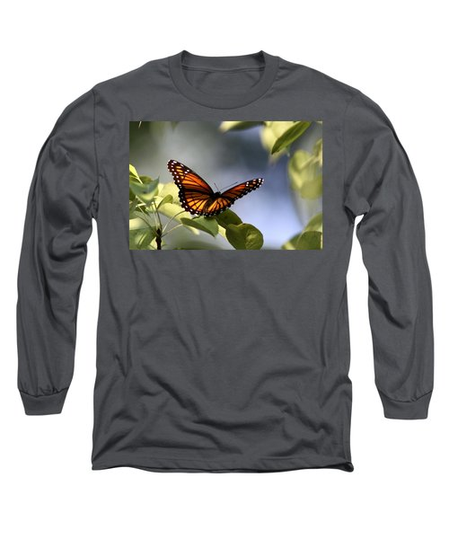 Butterfly -  Soaking Up The Sun Long Sleeve T-Shirt by Travis Truelove