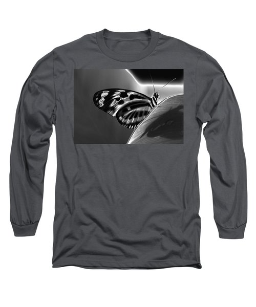 Butterfly Solarized Long Sleeve T-Shirt