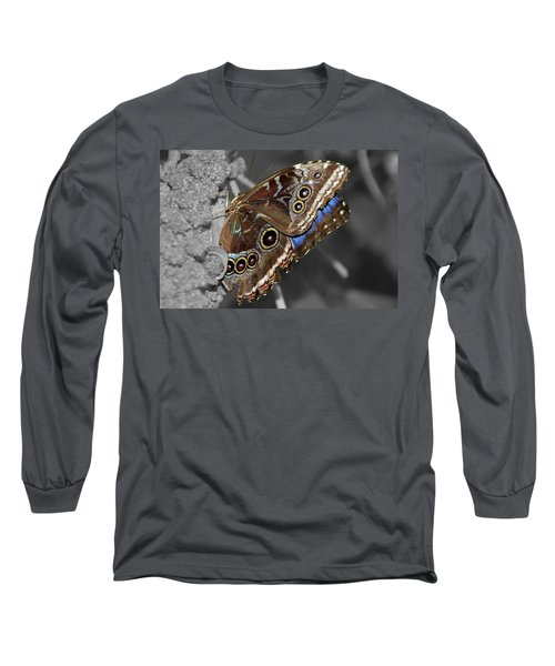 Butterfly Spot Color 1 Long Sleeve T-Shirt