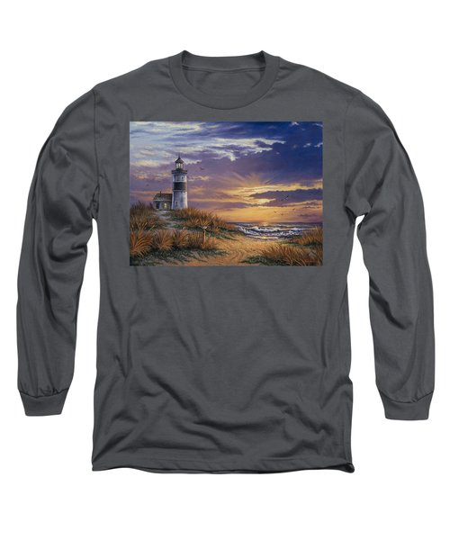 Long Sleeve T-Shirt featuring the painting By The Bay by Kyle Wood