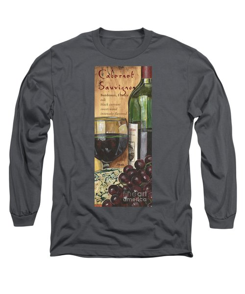 Cabernet Sauvignon Long Sleeve T-Shirt