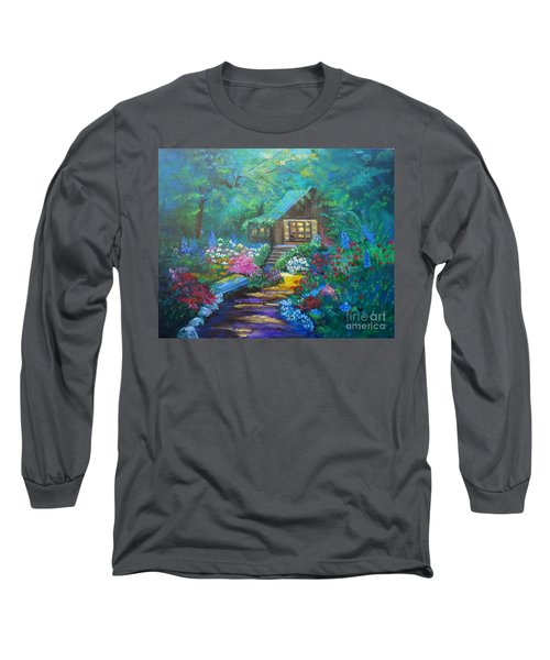 Cabin In The Woods Jenny Lee Discount Long Sleeve T-Shirt