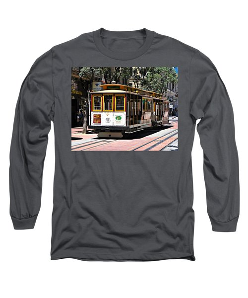 Cable Car - San Francisco Long Sleeve T-Shirt