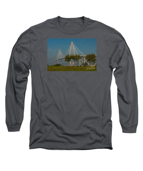 Cable Stayed Bridge Long Sleeve T-Shirt