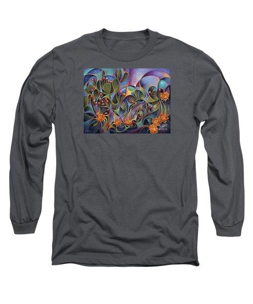 Cactus Dinamicus 3d Long Sleeve T-Shirt