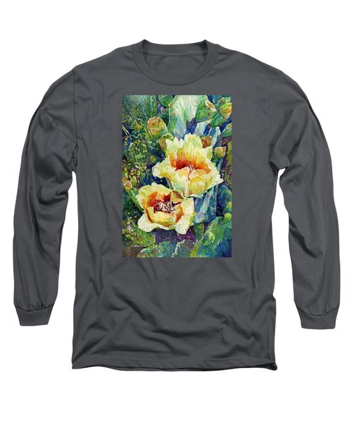 Cactus Splendor I Long Sleeve T-Shirt