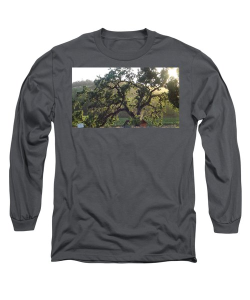 Long Sleeve T-Shirt featuring the photograph Cali Setting by Shawn Marlow