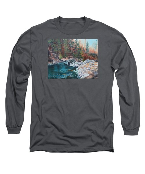 Calling Me Home Long Sleeve T-Shirt by Patricia Olson