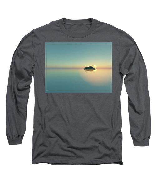 Calm Seas Sunset... Long Sleeve T-Shirt
