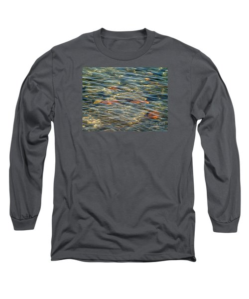 Long Sleeve T-Shirt featuring the photograph Calming Waters by Susan  Dimitrakopoulos