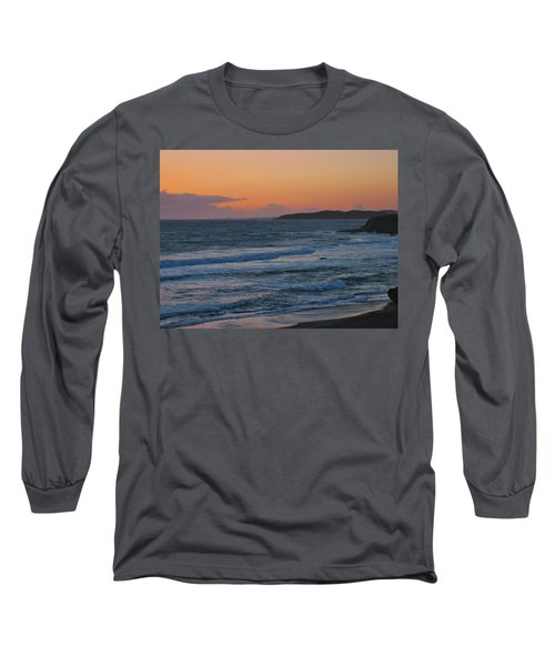 Long Sleeve T-Shirt featuring the photograph Cambria by Angela J Wright