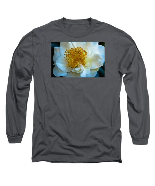 Camellia Long Sleeve T-Shirt by Julie Andel
