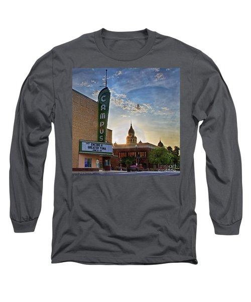 Campus At Sunrise Long Sleeve T-Shirt