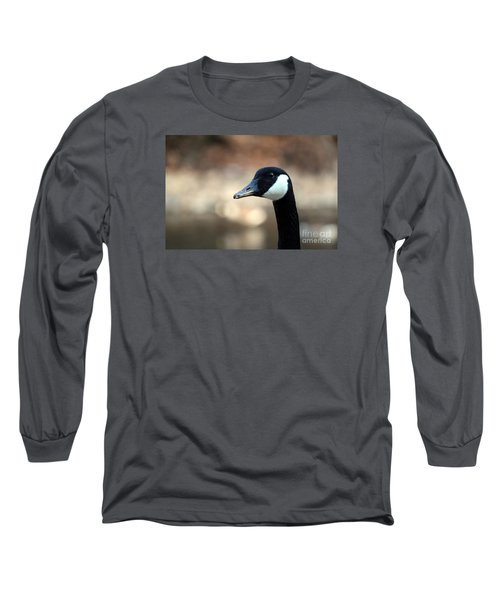 Canadian Goose Long Sleeve T-Shirt by David Jackson