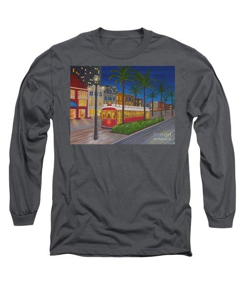 Canal Street Car Line Long Sleeve T-Shirt