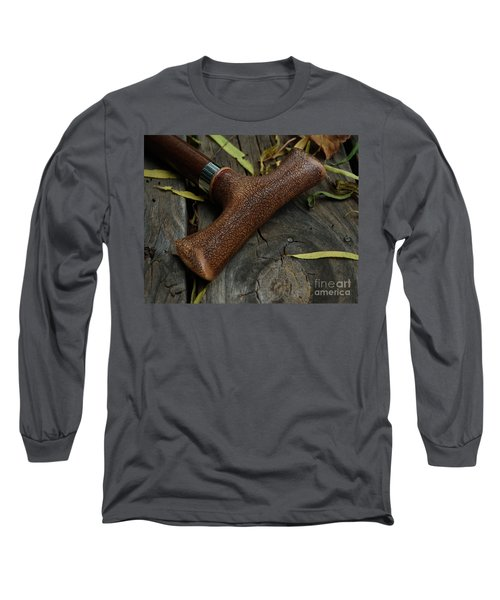 Long Sleeve T-Shirt featuring the photograph Cane And I by Peter Piatt
